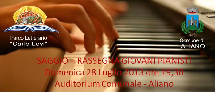 Saggio-Rassegna Giovani Pianisti Aliano 28 Luglio 2012