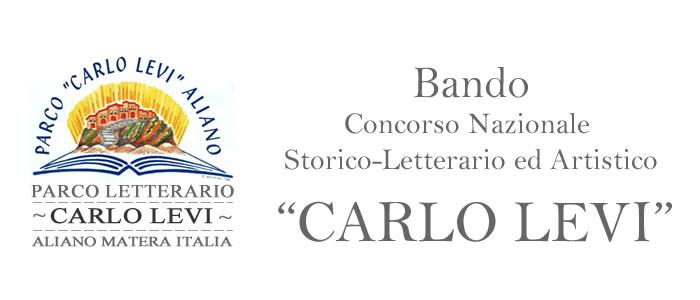 """Bando Concorso Nazionale Storico-Letterario ed Artistico """"CARLO LEVI"""""""